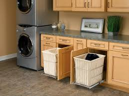 pull out baskets for bathroom cabinets awesome laundry room with pull out hers home new kitchen
