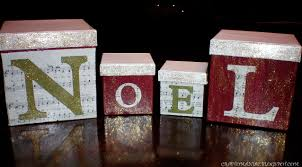 dollar store crafted noel boxes w tutorial craft o maniac
