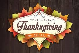 park casino serving complimentary thanksgiving meals