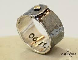 custom rings for men personalized sterling silver ring men s women s