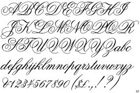 kaligrafické fonty hledat googlem kaligrafie pinterest