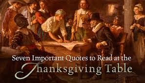 seven important quotes to read at the thanksgiving table photos