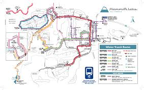 Dc Metro Blue Line Map by Mammoth Lakes Transportation And Bus Schedule Mammoth Mountain