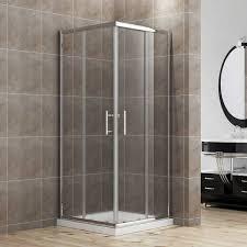 800 Shower Door 800 X 800 Mm Framed Corner Entry 6mm Sliding Shower