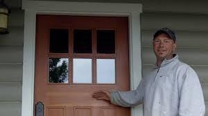 Refinish Exterior Door Door Refinishing Douglas Fir Exterior Door