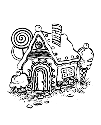 gingerbread house coloring pages printable free coloringstar