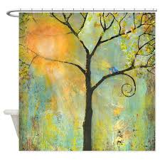 Artistic Shower Curtains Shower Curtains Cafepress