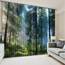 online get cheap window curtain forest aliexpress com alibaba group