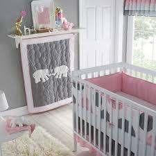 Pink And Gray Crib Bedding Pink And Grey Crib Bedding Classics Pink Parade 4