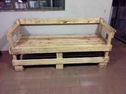 bench made out of pallets rustic bench outdoor furniture made from wood pallets crustpizza