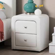 faux bamboo nightstand wayfair