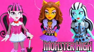 funko rock candy monster high clawdeen wolf draculaura frankie