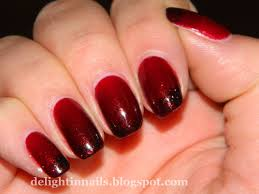 nail art red and black nail art designs