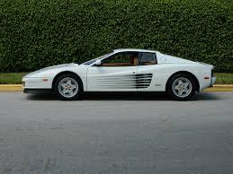 cars ferrari white the real wolf of wall street u0027s white ferrari testarossa for sale