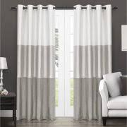 Blue And White Striped Drapes Blue U0026 White Striped Curtains