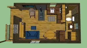 sweatsville 12 u0027 x 24 u0027 lofted barn cabin in sketchup