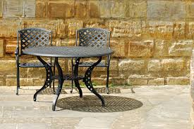 Cleaning Outdoor Furniture by How To Clean Wrought Iron Patio Furniture Ebay