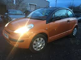 citroen c3 pluriel hdi diesel 1 4cc 3dr manual orange