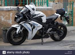 cbr motorcycle parked honda cbr fireblade police motorcycle republic of cyprus