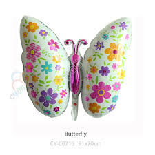 butterfly balloons wholesale jumbo 91 70cm colorful butterfly balloons happy birthday
