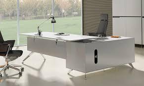 Modern Digs Furniture by White Modern Executive Desk Left Return Desk