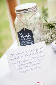 wedding wish jar at home marquee wedding with men in squad of