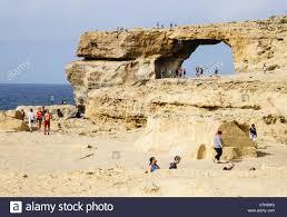 azure window colapse gozo dwejra bay the azure window rock arch where walking on the
