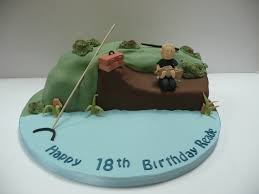 interior design simple fishing themed cake decorations home