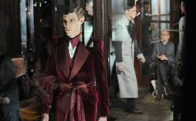 robe de chambre anglais mcqueen s gives the nod to