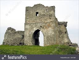 photo of ruins of old castle
