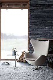 egg chair swivel armchair gabriele fame fabric chocolate by