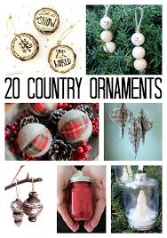 country ornaments 20 diy ideas for you the country
