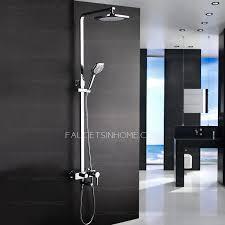 Bathroom Shower Handles Modern Designed Outdoor Exposed Shower Faucet System