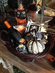 gift ideas for halloween handmade halloween silent auction basket for fall festival gift