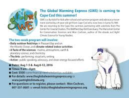 global warming express on cape cod