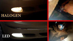 Fog Light Led Bulbs by How To Install Led Bulbs H11 In Fog Lights On Mercedes W211