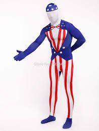 halloween full body suit online shop the usa flag zentai full body suit lycra spandex