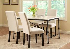 Buy Dining Table Malaysia Furniture Marvellous Cappuccino Finish White Faux Marble Top