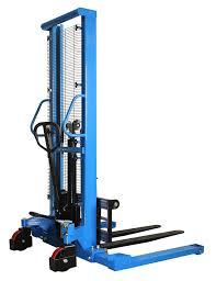 manual pallet stacker with straddle leg h10j eoslift us