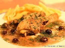 poulet cuisine recette poulet aux olives la cuisine familiale un plat une recette
