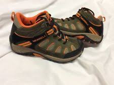 s winter hiking boots size 12 merrell boys boots ebay