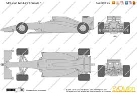 mclaren f1 drawing the blueprints com vector drawing mclaren mp4 29 formula 1