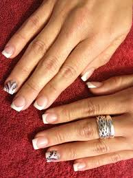 pink and white acrylic nails sara u0027s nail designs pinterest