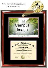 of illinois diploma frame diploma frame with picture images craft decoration ideas