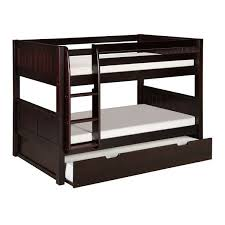 Twin Over Twin Bunk Beds With Trundle by Best 25 Bunk Bed With Trundle Ideas On Pinterest Built In Bunks