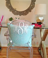 teen u0027s room a before and after ghost chair monogram