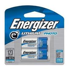 energizer cr123a 3v photo lithium batteries 2 pk by energizer
