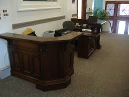 Stand Up Reception Desk New Desk For An Old Building Part 2 Making Things Work