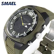 mens rubber bracelet watches images Smael smael 1008 luxury brand watch men sport military watches jpg