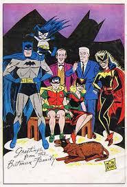 wacky comics batman family portrait 1961